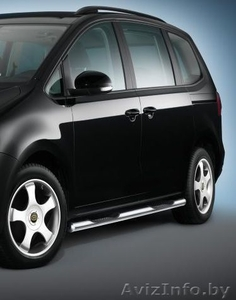 Для Volkswagen Sharan кенгурятник, пороги, хром накладки. - Изображение #2, Объявление #807378
