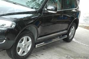 Для Volkswagen Touareg продольные алюминиевые рейлинги. - Изображение #5, Объявление #807403