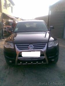 Для Volkswagen Touareg продольные алюминиевые рейлинги. - Изображение #3, Объявление #807403