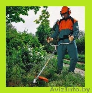 Скосим заросли траву,спилим куст дерево - Изображение #1, Объявление #1109198