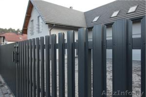 ЕВРО -забор. Ворота откатные. Ворота распашные. - Изображение #2, Объявление #1362430