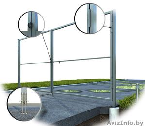 ЕВРО -забор. Ворота откатные. Ворота распашные. - Изображение #3, Объявление #1362430