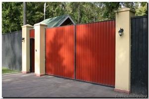 ЕВРО -забор. Ворота откатные. Ворота распашные. - Изображение #1, Объявление #1362430