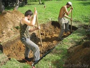 Землекопы: траншеи, ямы, равнение участка - Изображение #1, Объявление #1407597