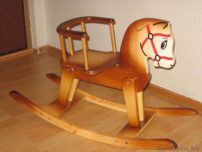 Кресло качалка лошадка своими руками