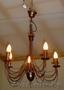 Люстра,  пять свечей