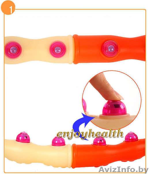 Hula hoop reifen, health hoop, magnetic ii (1200 gramm)