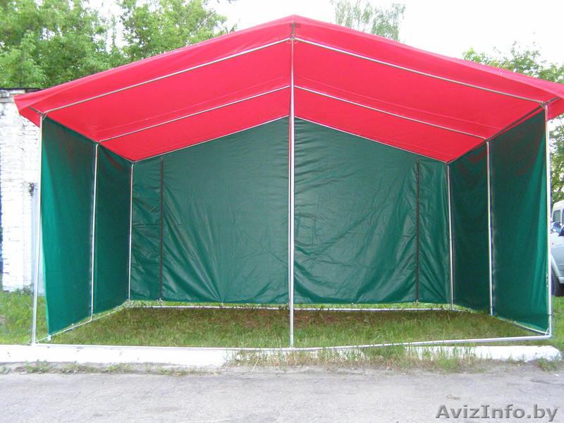 Торговый палатка своими руками