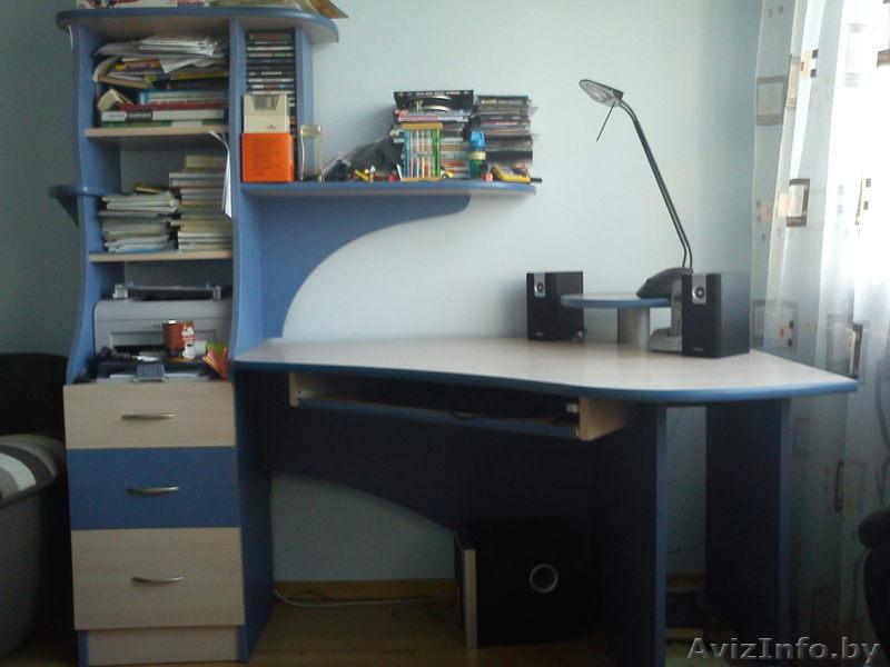Продам угловой стол б/у, фото 1 минск slanet.