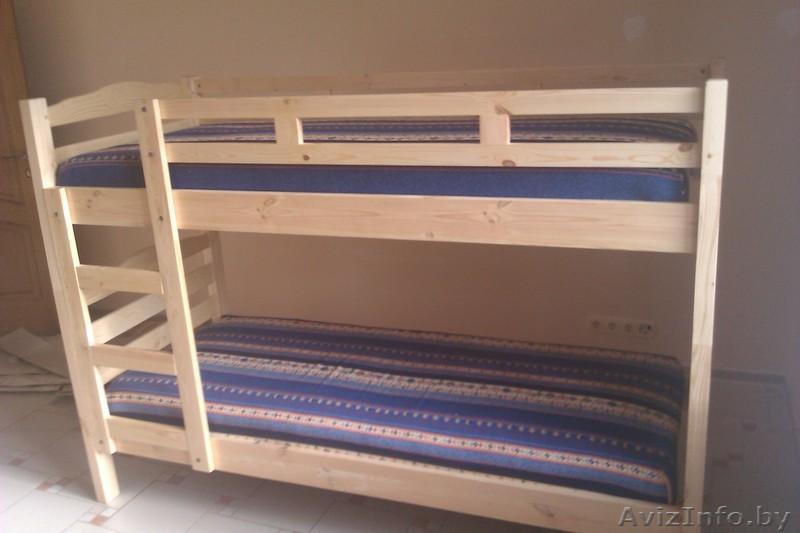 Двухъярусная детская кровать своими руками фото