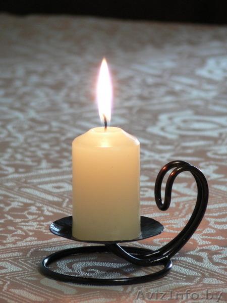 Из чего сделать подсвечник для церковной свечи своими руками