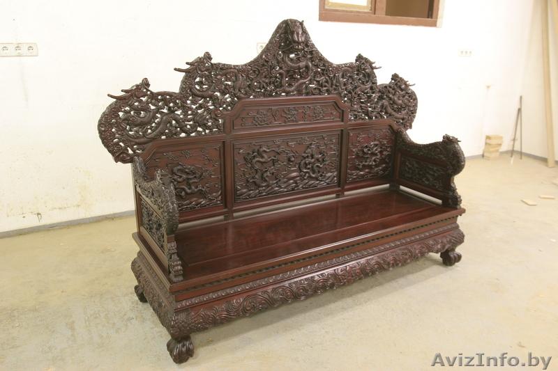 Мебель ручной работы, эксклюзив на я, с элементами резьбы(диван, американск