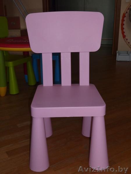 новый детский стул пластиковый а ля Ikea в минске продам куплю