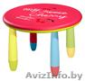 Новый Детский стол пластиковый а-ля ikea