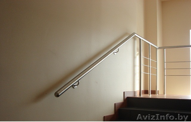 Поручни для лестницы своими руками