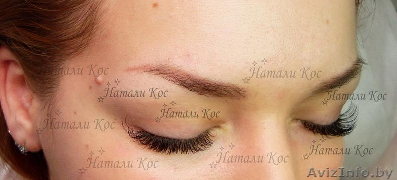 Перманентный макияж бровей минск