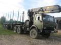 Продается лесовоз КаМаз 43101 с гидроманипулятором ЙОНЗЕРЕД,  вылет стрелы 8, 7 м.