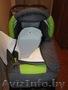Детская коляска-трансформер,  новая,  серо-салатового цвета