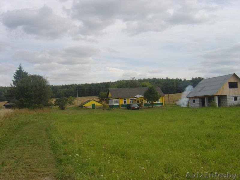 Продам дом с участком 25 соток Воложинский р-н д.Кутенята, Объявление #811658