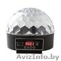 Светодиодный диско шар LED Magic Ball с MP3 проигрывателем