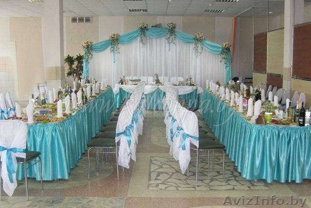 Как украсить столовую на свадьбу своими руками фото