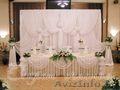 Украшение залов от салона свадебного декора Секрет счастья