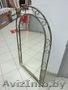 Декоративные зеркала и столики из кованого метала. Доставка
