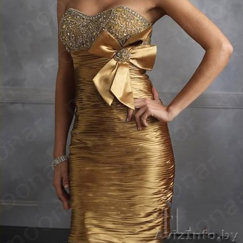 Платье Золотистого Цвета Доставка