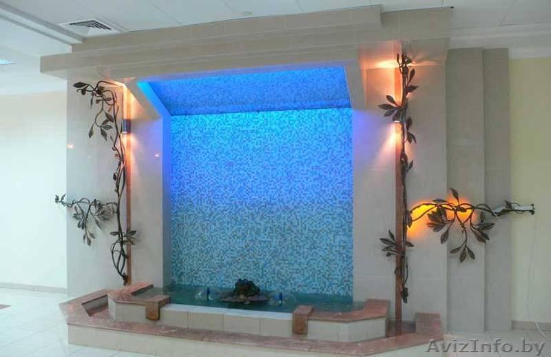 Водопад стеклянный