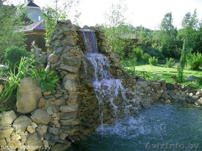 Водопад каскадный своими руками 182