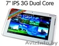 Универсальный планшет Saney 3G GPS DualCore IPS стекло!