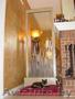 Домашние водопады по стеклу,  пузырьковые панели,  колонны.