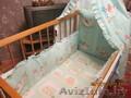 Детская кроватка,  с двумя положениями