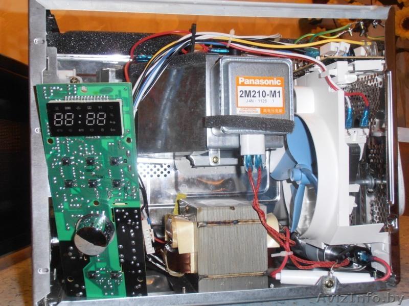 Ремонт микроволновых печей своими руками на дому искрит