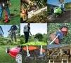 Культивация мотоблоком, покос травы