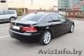 Аренда BMW750li (черный) с водителем