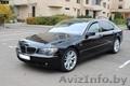Черный BMW 750li аренда с водителем