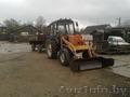 Трактор мтз-82 сприцепом и ковшом