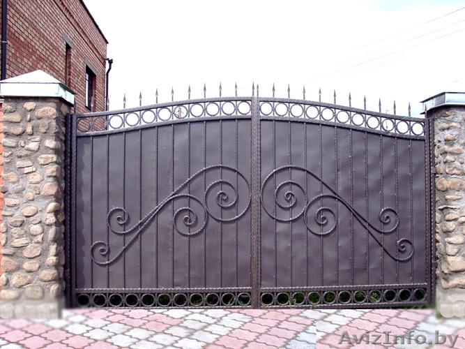 Фото ворот и калиток своими руками