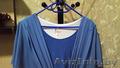Платье большого размера сине-голубое - Изображение #2, Объявление #1339403