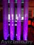 Водопад по стеклу,  воздушно-пузырьковые панели. монопанели,  аквадизайн