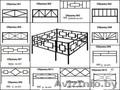 Продаем ритуальные оградки от производителя