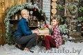 Детская и семейная новогодняя фотосессия в студии  Минск