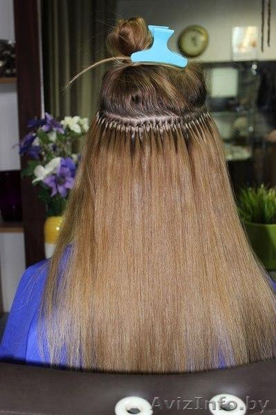 Наращивание волос итальянская методика