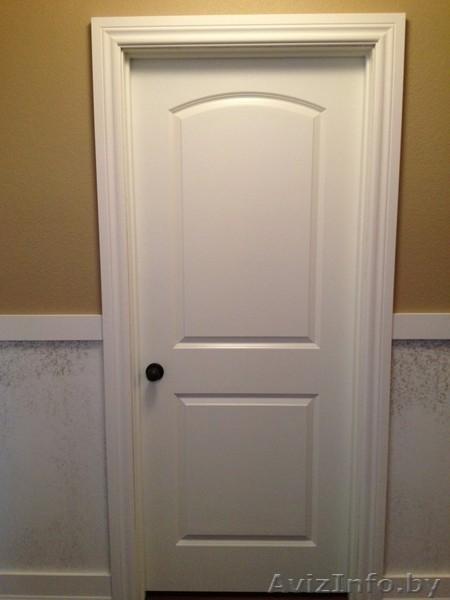 Межкомнатные двери белые минск