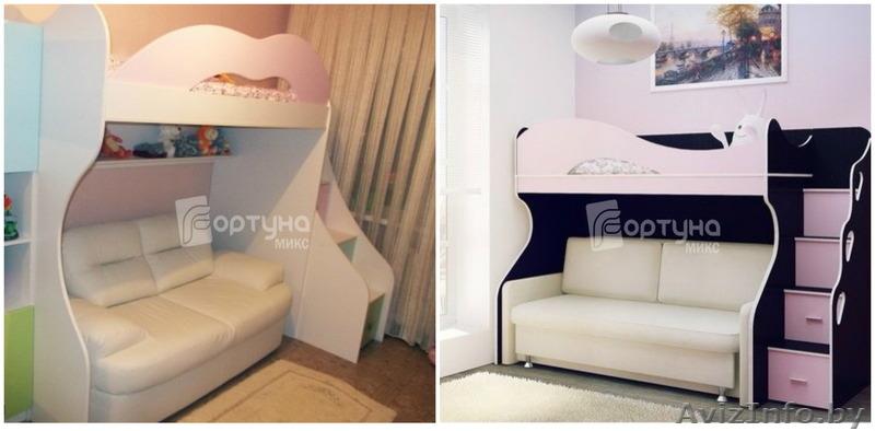 Кровать С Диваном Внизу В Москве