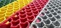 Грязезащитные модульные ковры их ПВХ ковры-решетки