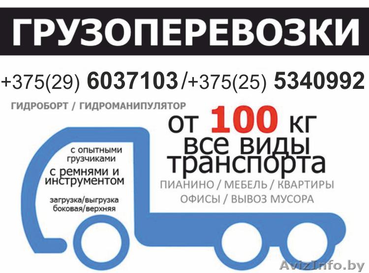 Грузоперевозки любой подъемности от 100 кг до 40 тонн Недорого, Объявление #1401765