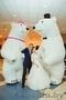 Большие Медведи Панда на свадьбу день рождения юбилей встречу гостей выпускной