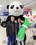 Большие Медведи панда на свадьбу день рождения встречу гостей выпускной , Объявление #1473277